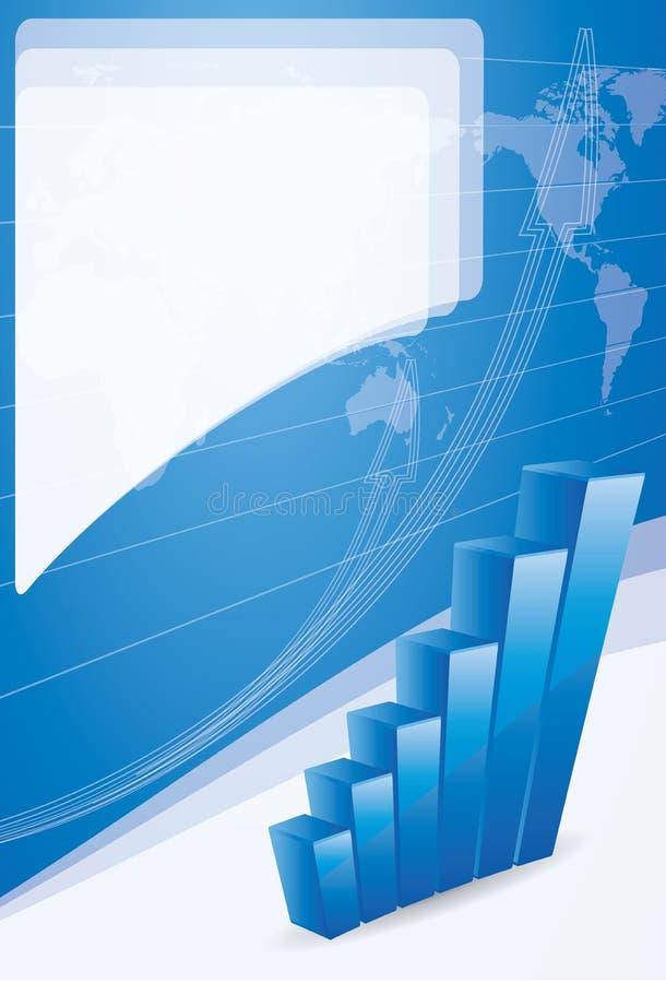 背景手册企业概念增长 库存例证