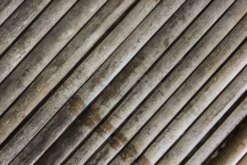 背景手织形式的竹子 免版税库存图片