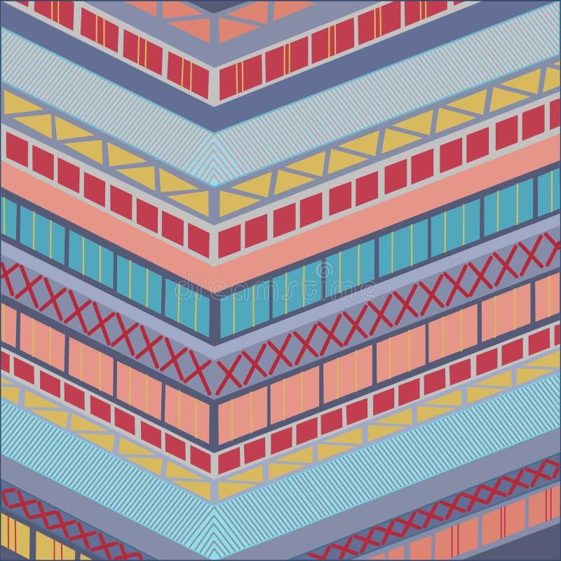 背景抽象几何 皇族释放例证