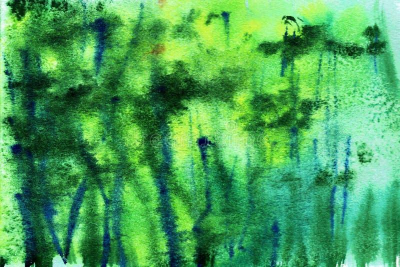 背景抽象纹理样式水彩和盐 皇族释放例证