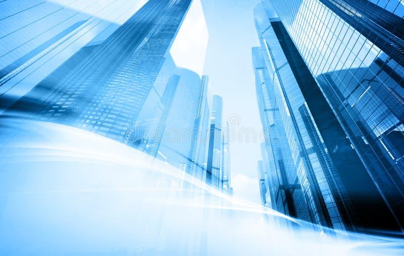 背景摩天大楼 向量例证