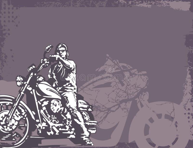 Download 背景摩托车 向量例证. 插画 包括有 围巾, 背包, 火箭, 马达, 镀铬物, 要素, 循环, 例证, 纹理 - 1867531