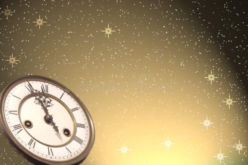 背景新年好 免版税库存照片