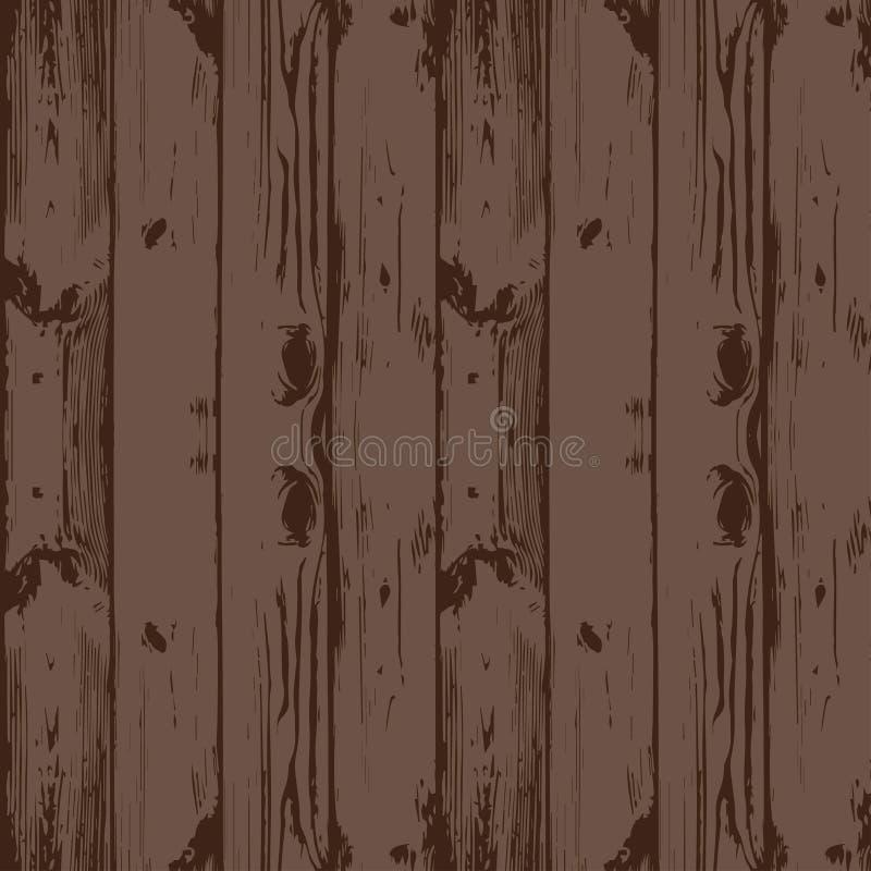 背景无缝木 板,特写镜头 库存例证