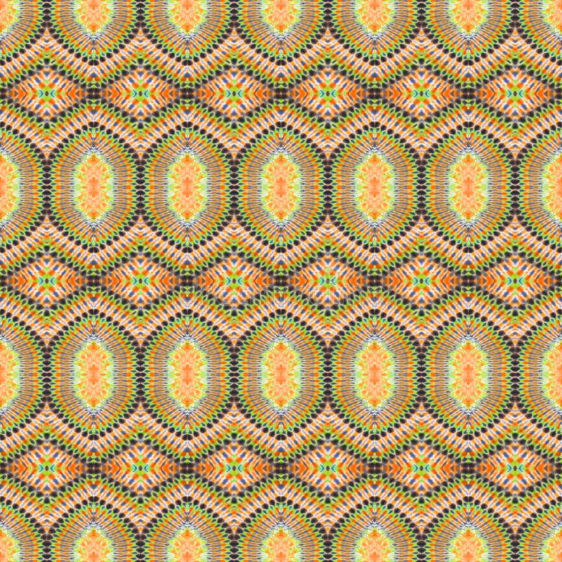 背景无缝的抽象领带染料样式 免版税库存照片