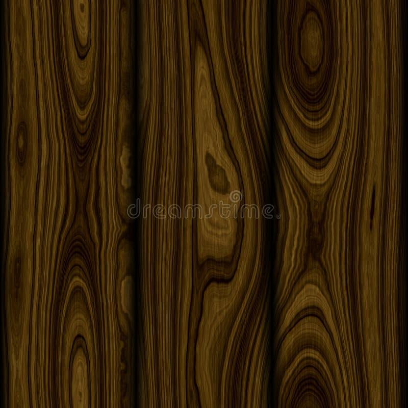 背景无缝的木头 库存例证