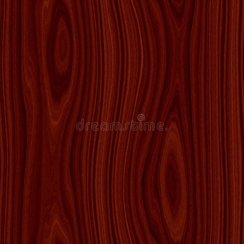 背景无缝的木头 皇族释放例证