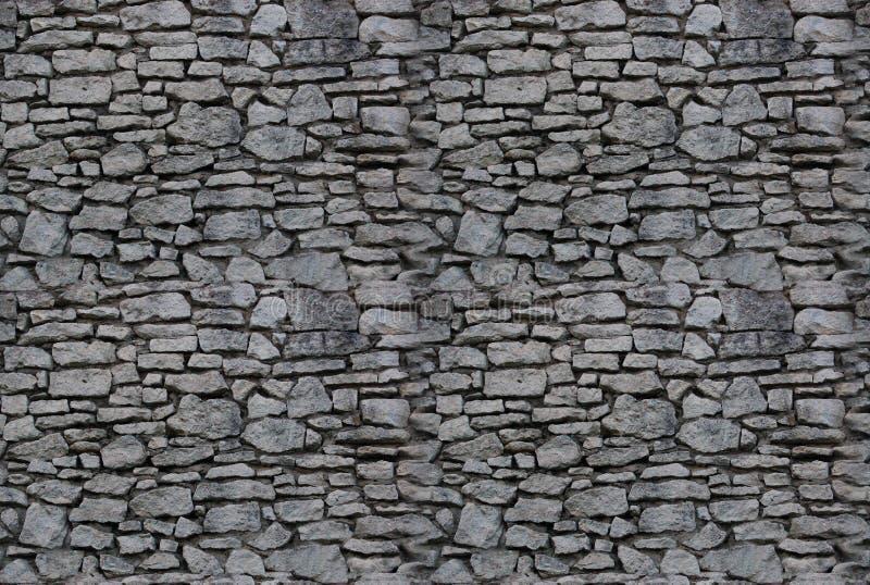 背景无缝的石墙 免版税库存图片
