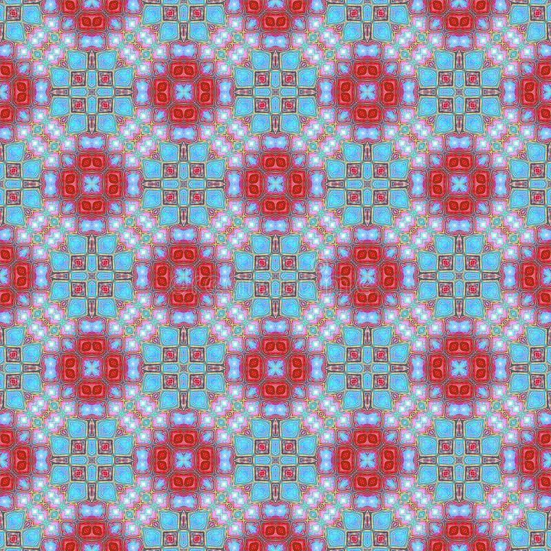 背景无缝的领带染料样式 向量例证