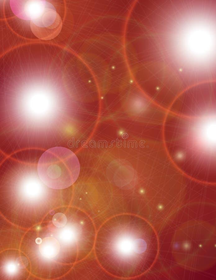 背景明亮的星形 图库摄影
