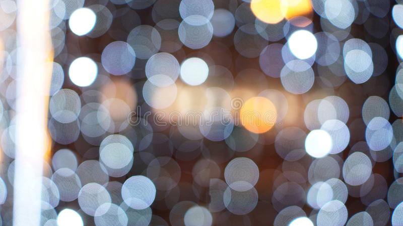背景是能圣诞节设计金例证使用了您 发光的背景 defocused的背景 免版税库存图片
