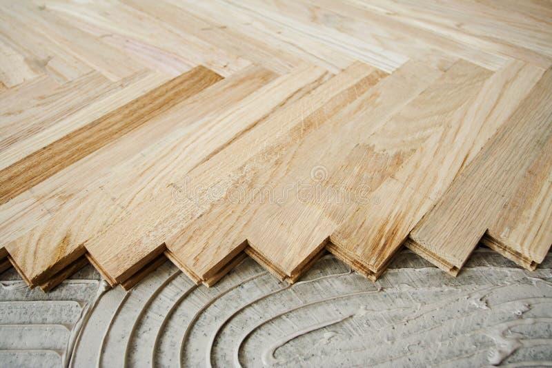 背景木条地板 免版税库存照片
