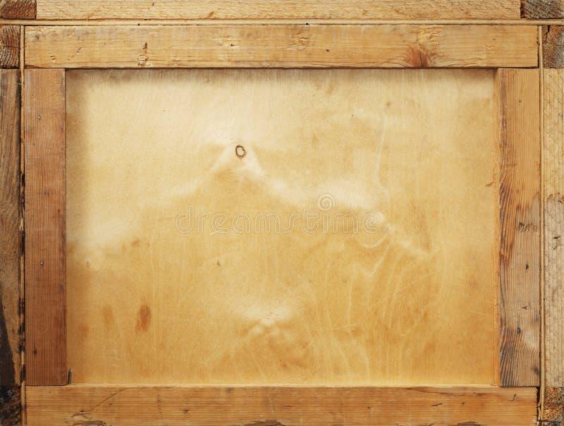 背景条板箱 免版税库存照片