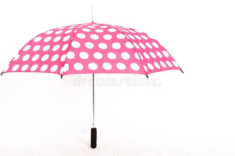 背景查出的伞白色 库存图片