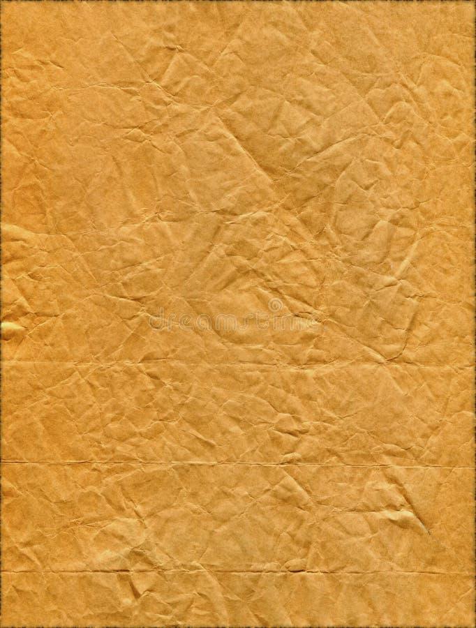 背景查出的老纸减速火箭的被剥去的葡萄酒 免版税库存照片