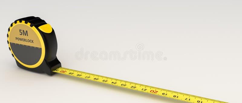 背景查出评定的磁带白色 向量例证