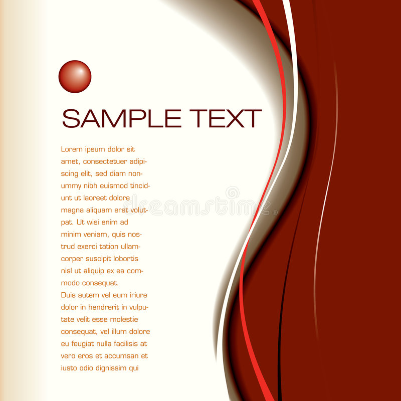 背景格式页 向量例证
