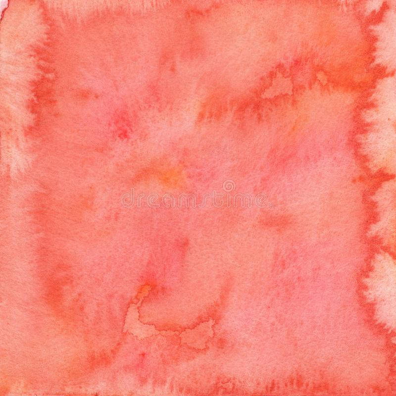 背景桃红色水彩 免版税图库摄影