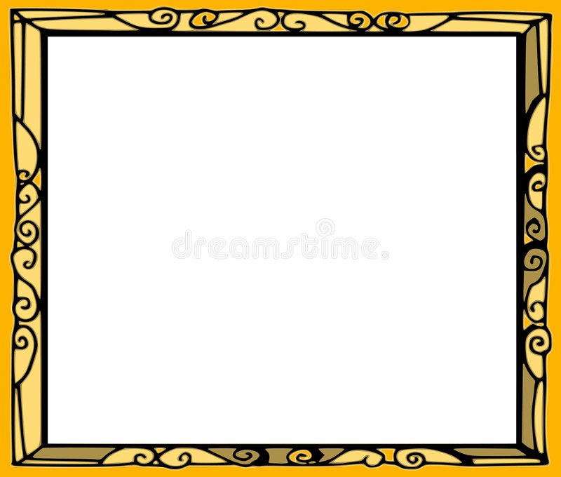 背景框架系列 皇族释放例证