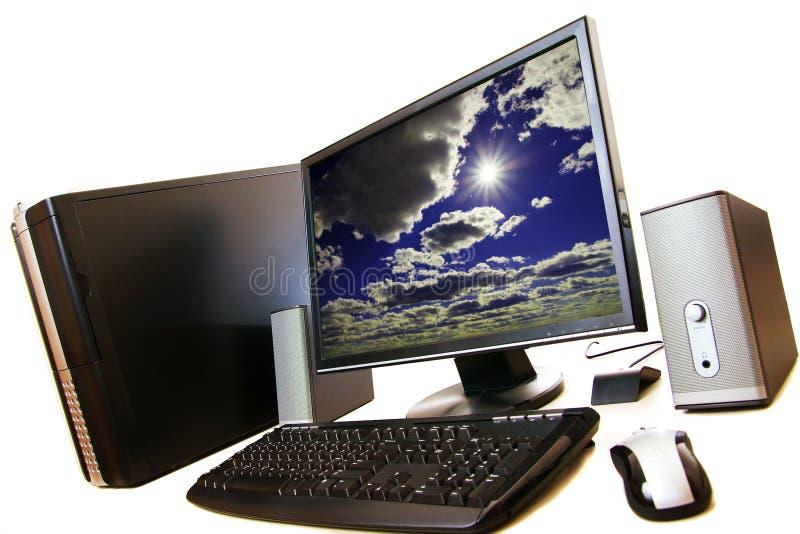 背景桌面白色 图库摄影