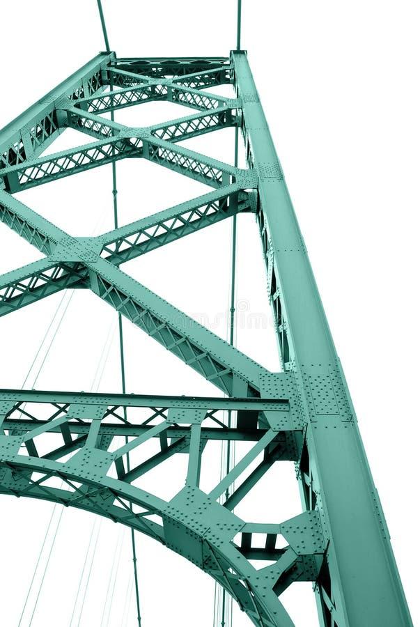 背景桥梁结构白色 免版税图库摄影