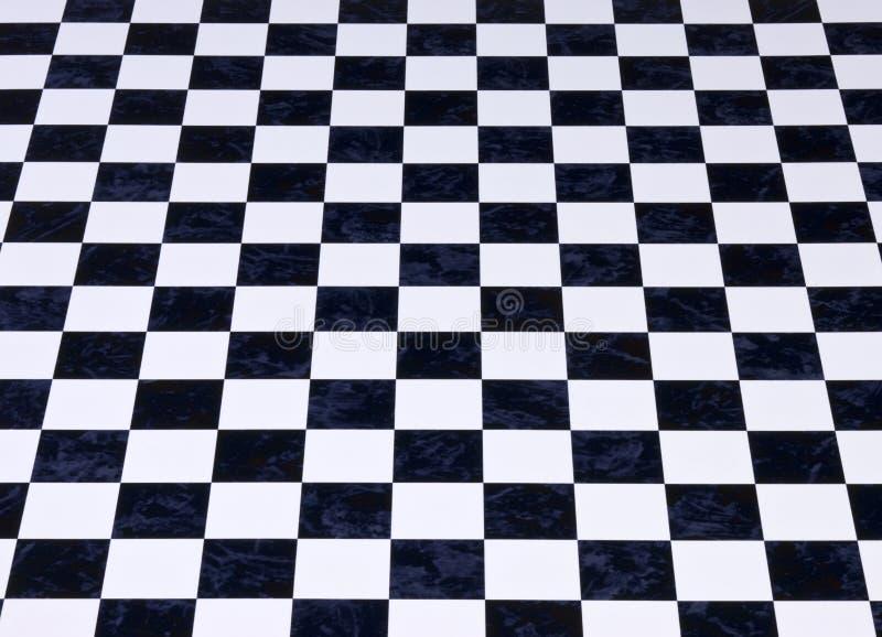 背景棋盘方格的大理石 库存图片