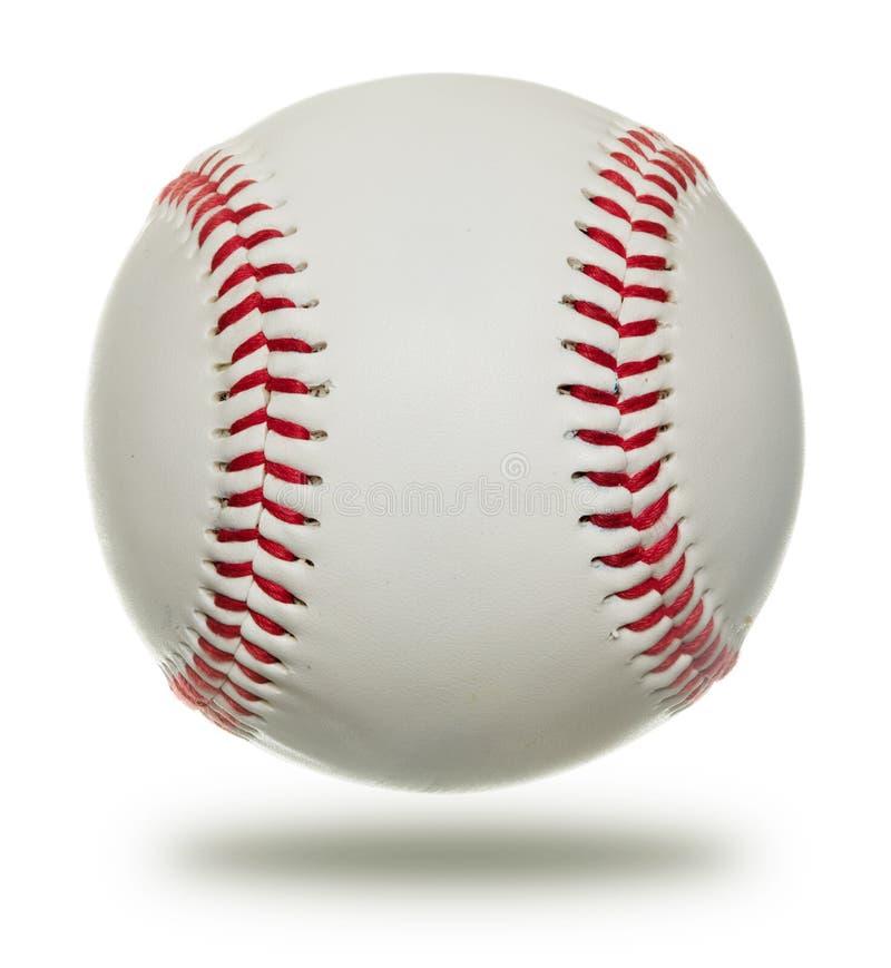 背景棒球查出的白色 图库摄影