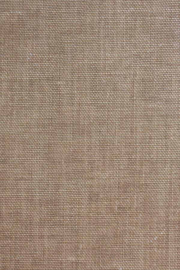 背景棕色粗糙的纺织品 图库摄影