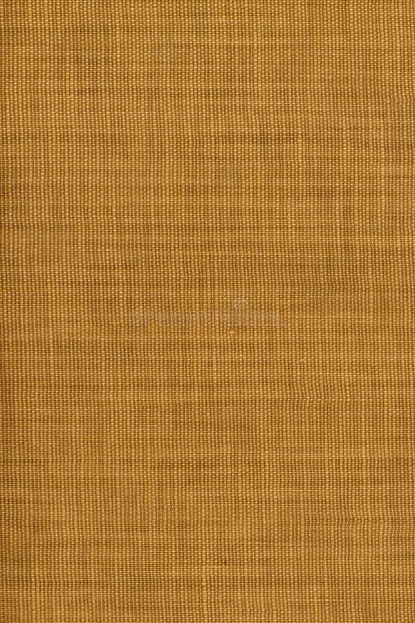 背景棕色粗糙的纺织品 免版税库存照片