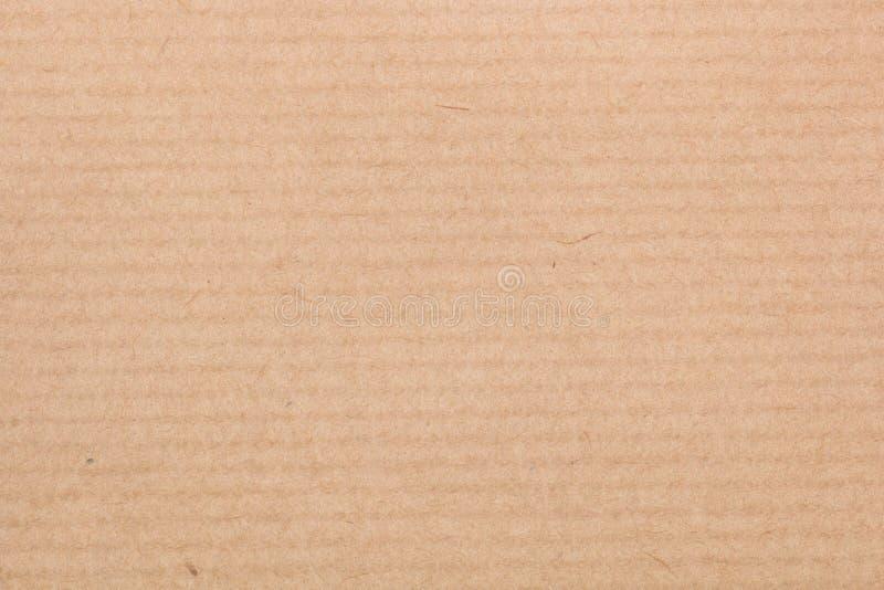 背景棕色自然纸张被回收的纹理 免版税库存照片