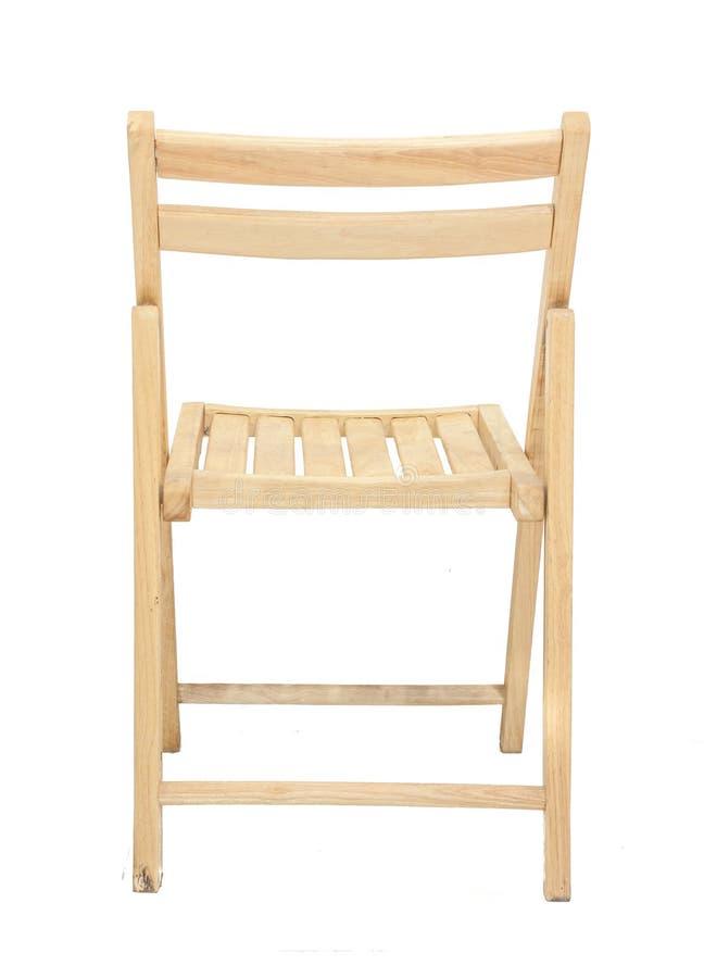 背景椅子空白木 免版税图库摄影