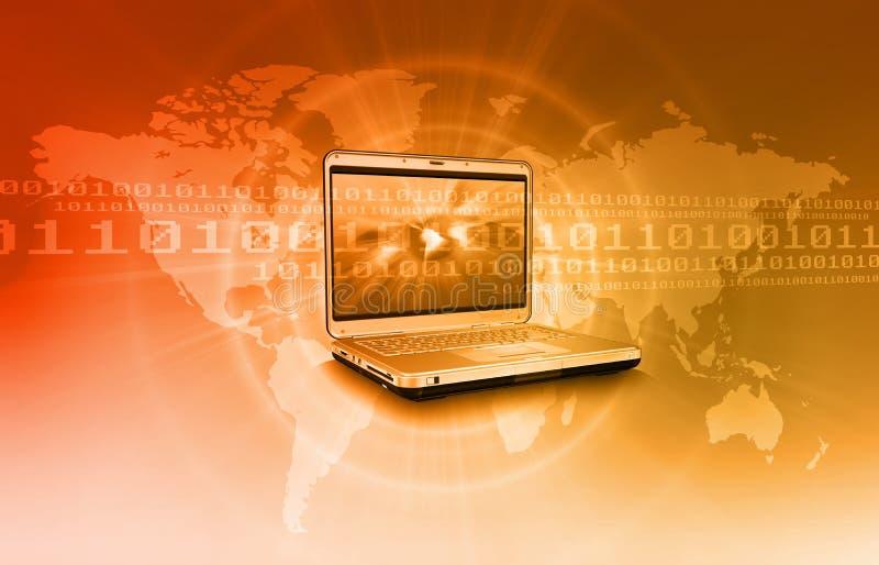 背景概念互联网 免版税库存图片