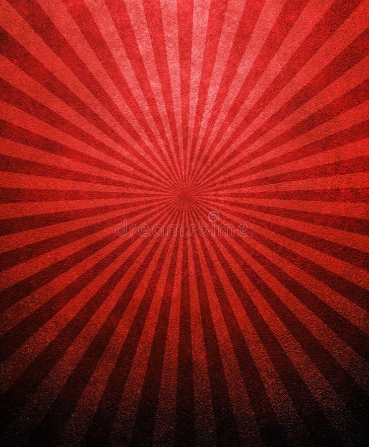 背景模式发出光线减速火箭 向量例证