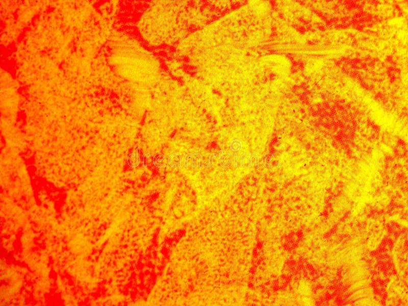 背景橙色模式纹理黄色 向量例证