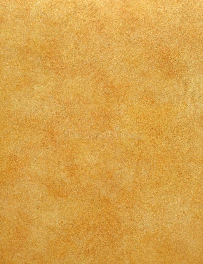 背景橙色油漆纹理 库存照片