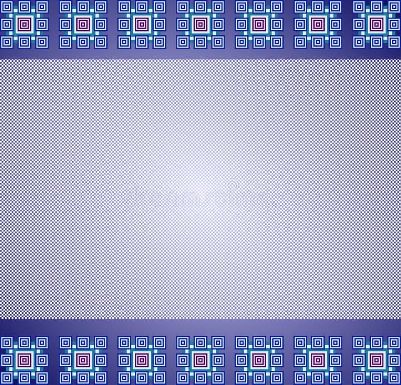背景正方形 皇族释放例证