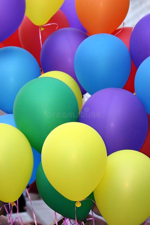 背景气球 库存照片