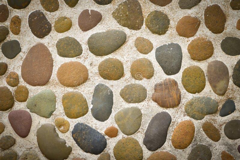 背景水泥石头 免版税库存图片