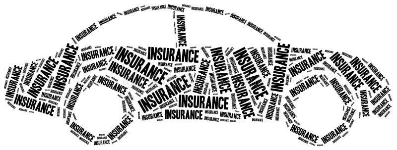 背景汽车例证保险向量白色 通信 皇族释放例证