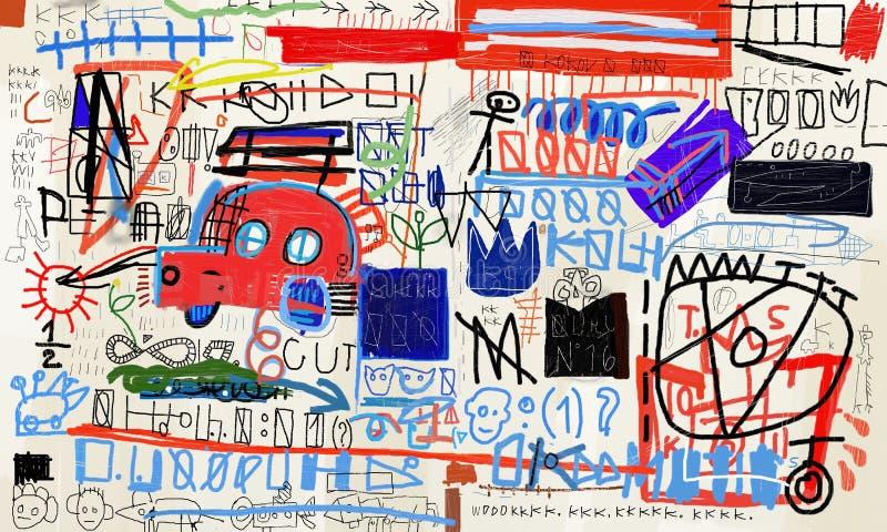 背景汽车庄稼容易地包括路径粉红色导航 库存例证