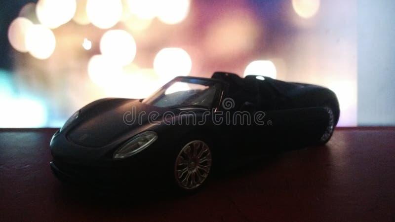 背景汽车查出的玩具白色 库存照片