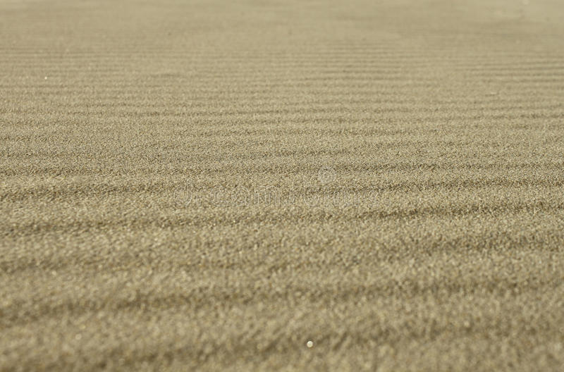 背景沙子纹理 图库摄影