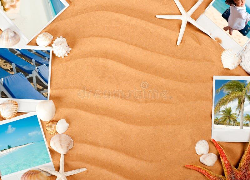 背景沙子 免版税库存图片
