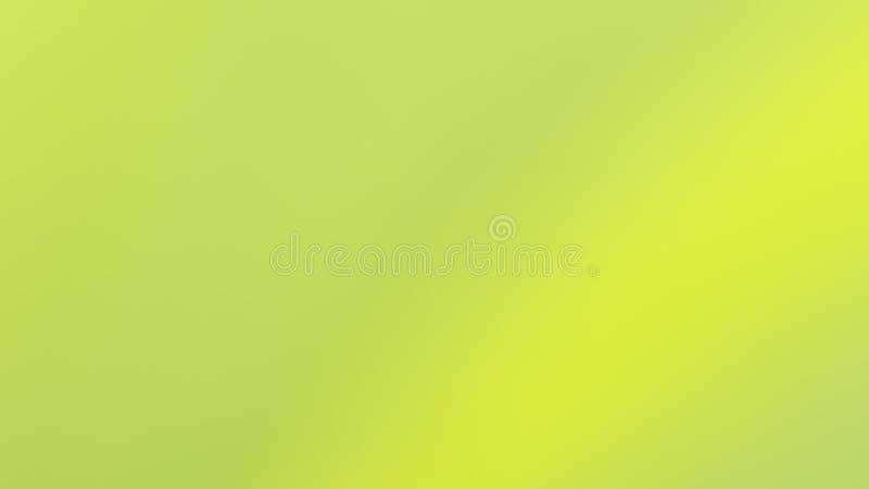 背景浅绿色的梯度的迷离抽象颜色 免版税库存照片