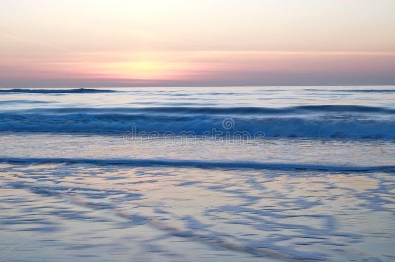 背景海洋 图库摄影
