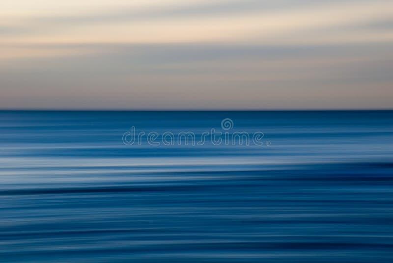 背景海洋 皇族释放例证
