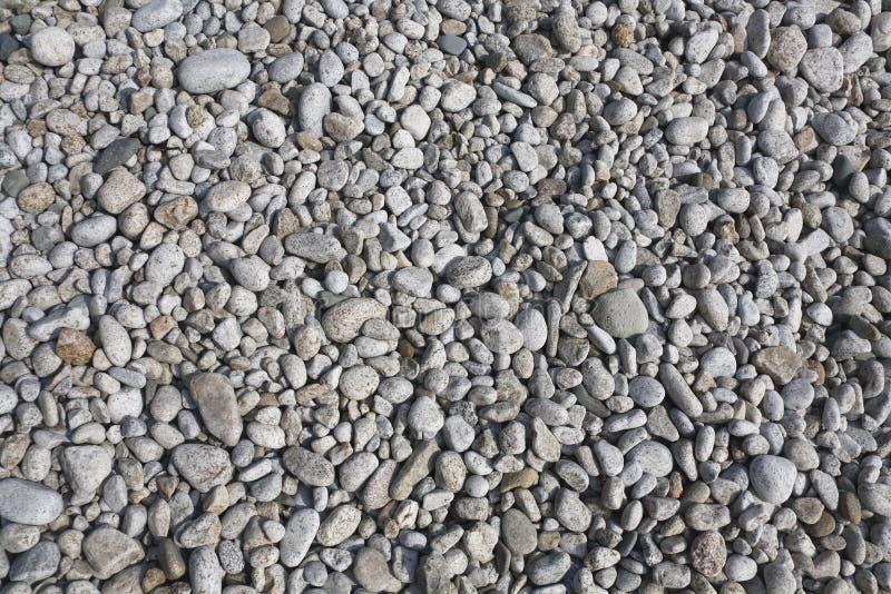 背景海滩小卵石 免版税库存图片