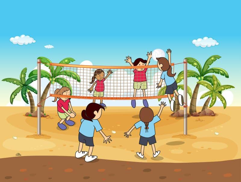 背景海滩查出的排球白色.图片