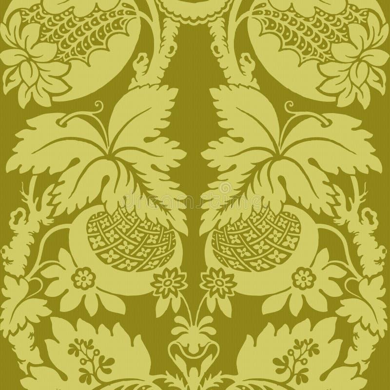 背景漂泊花卉质朴的吉普赛样式 皇族释放例证