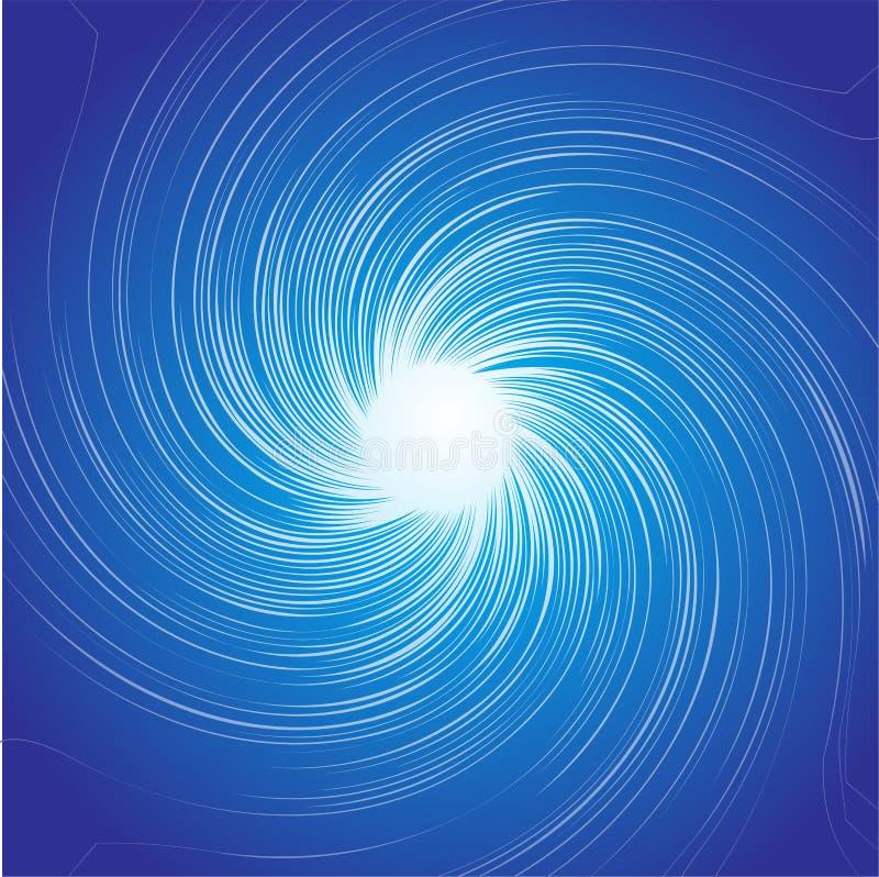 背景漩涡 向量例证